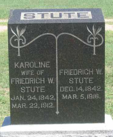 STROUP, FRIEDRICH W. - Dundy County, Nebraska | FRIEDRICH W. STROUP - Nebraska Gravestone Photos