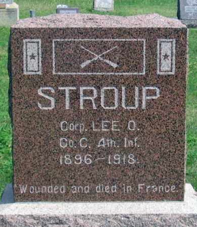 STROUP, LEE O. - Dundy County, Nebraska | LEE O. STROUP - Nebraska Gravestone Photos