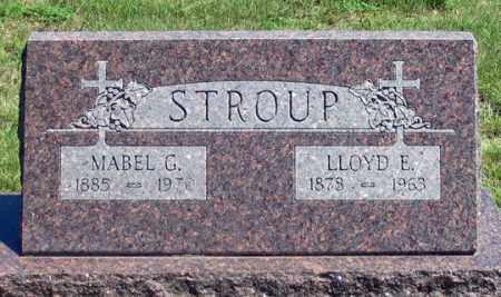 STROUP, LLOYD E. - Dundy County, Nebraska | LLOYD E. STROUP - Nebraska Gravestone Photos