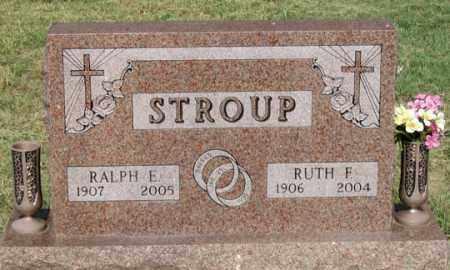 STROUP, RALPH E. - Dundy County, Nebraska   RALPH E. STROUP - Nebraska Gravestone Photos