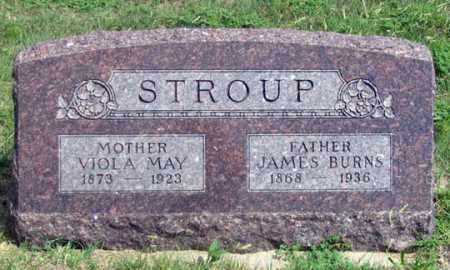 WADE STROUP, VIOLA MAY - Dundy County, Nebraska | VIOLA MAY WADE STROUP - Nebraska Gravestone Photos