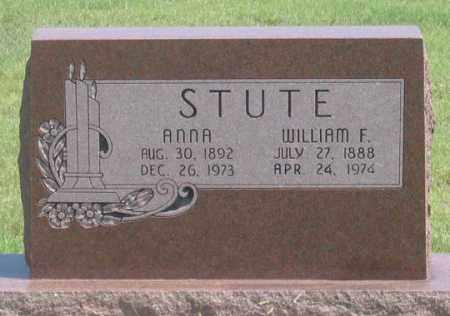 PENNELL STUTE, ANNA - Dundy County, Nebraska | ANNA PENNELL STUTE - Nebraska Gravestone Photos