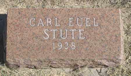 STUTE, CARL EUEL - Dundy County, Nebraska | CARL EUEL STUTE - Nebraska Gravestone Photos