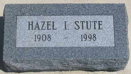 TROUT STUTE, HAZEL I. - Dundy County, Nebraska | HAZEL I. TROUT STUTE - Nebraska Gravestone Photos