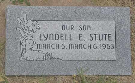 STUTE, LYNDELL E. - Dundy County, Nebraska   LYNDELL E. STUTE - Nebraska Gravestone Photos