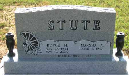 STUTE, ROYCE H. - Dundy County, Nebraska   ROYCE H. STUTE - Nebraska Gravestone Photos