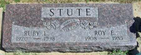 CARTER STUTE, RUBY L. - Dundy County, Nebraska | RUBY L. CARTER STUTE - Nebraska Gravestone Photos