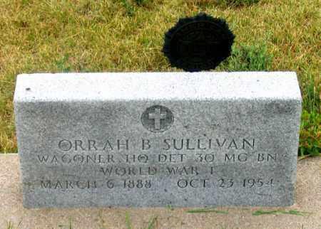 SULLIVAN, ORRAH BERKLIN - Dundy County, Nebraska | ORRAH BERKLIN SULLIVAN - Nebraska Gravestone Photos