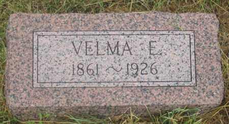 SULLIVAN, VELMA ELDORA - Dundy County, Nebraska | VELMA ELDORA SULLIVAN - Nebraska Gravestone Photos