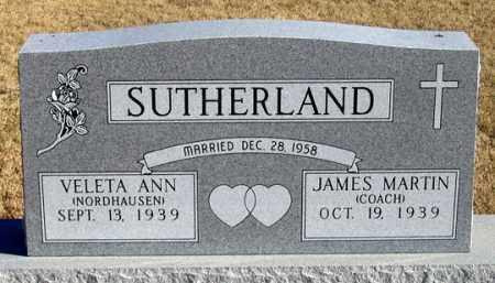 SUTHERLAND, VELETA ANN - Dundy County, Nebraska | VELETA ANN SUTHERLAND - Nebraska Gravestone Photos