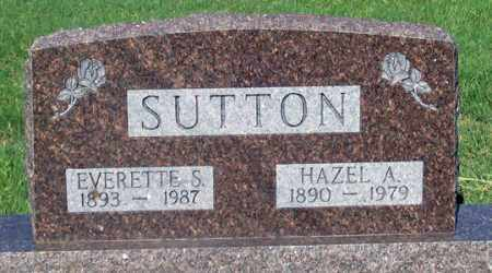 SUTTON, HAZEL A. - Dundy County, Nebraska   HAZEL A. SUTTON - Nebraska Gravestone Photos