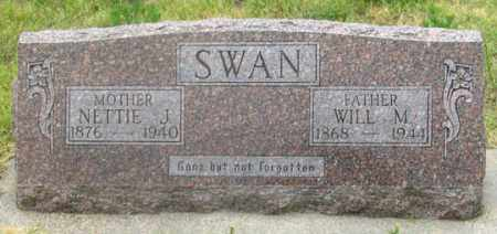 HACKER SWAN, NETTIE JANE - Dundy County, Nebraska | NETTIE JANE HACKER SWAN - Nebraska Gravestone Photos
