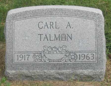 TALMON, CARL A. - Dundy County, Nebraska | CARL A. TALMON - Nebraska Gravestone Photos
