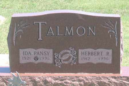 TALMON, HERBERT R. - Dundy County, Nebraska | HERBERT R. TALMON - Nebraska Gravestone Photos