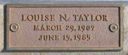 GRAHAM TAYLOR, LOUISE NELLIE - Dundy County, Nebraska | LOUISE NELLIE GRAHAM TAYLOR - Nebraska Gravestone Photos