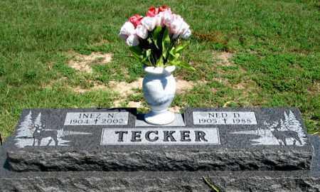 TECKER, NED D. - Dundy County, Nebraska | NED D. TECKER - Nebraska Gravestone Photos