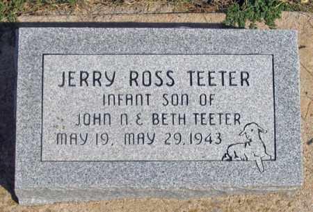 TEETER, JERRY ROSS - Dundy County, Nebraska | JERRY ROSS TEETER - Nebraska Gravestone Photos