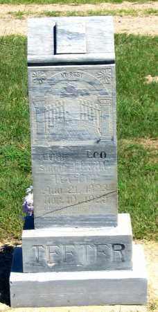 TEETER, LOYAL LEO - Dundy County, Nebraska | LOYAL LEO TEETER - Nebraska Gravestone Photos