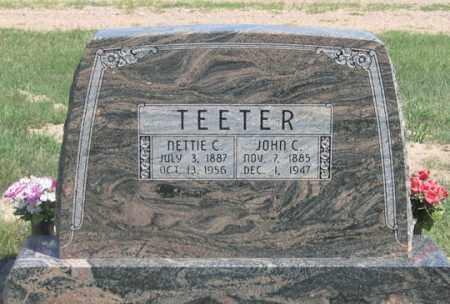 LITTLE TEETER, NETTIE C. - Dundy County, Nebraska | NETTIE C. LITTLE TEETER - Nebraska Gravestone Photos