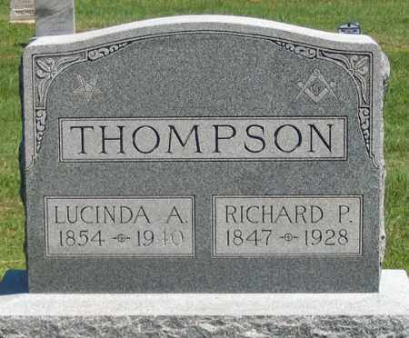 THOMPSON, RICHARD P. - Dundy County, Nebraska | RICHARD P. THOMPSON - Nebraska Gravestone Photos