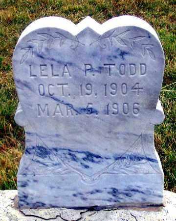 TODD, LELA PEARL - Dundy County, Nebraska | LELA PEARL TODD - Nebraska Gravestone Photos