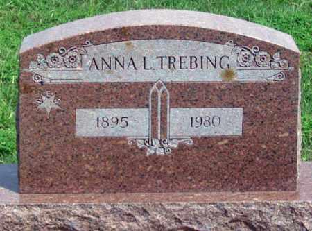 TREBING, ANNA L. - Dundy County, Nebraska   ANNA L. TREBING - Nebraska Gravestone Photos