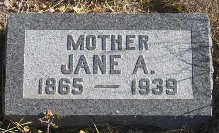 TREMBLY, JANE ANNE - Dundy County, Nebraska   JANE ANNE TREMBLY - Nebraska Gravestone Photos