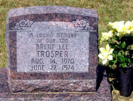 TROSPER, BRENT LEE - Dundy County, Nebraska | BRENT LEE TROSPER - Nebraska Gravestone Photos