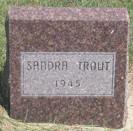 TROUT, SANDRA - Dundy County, Nebraska | SANDRA TROUT - Nebraska Gravestone Photos