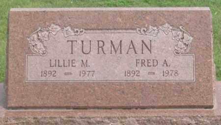 TURMAN, LILLIE MAE - Dundy County, Nebraska | LILLIE MAE TURMAN - Nebraska Gravestone Photos