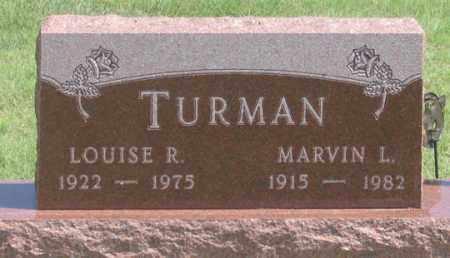 TURMAN, LOUISE R. - Dundy County, Nebraska | LOUISE R. TURMAN - Nebraska Gravestone Photos