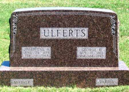 ULFERTS, GEORGE H. - Dundy County, Nebraska | GEORGE H. ULFERTS - Nebraska Gravestone Photos