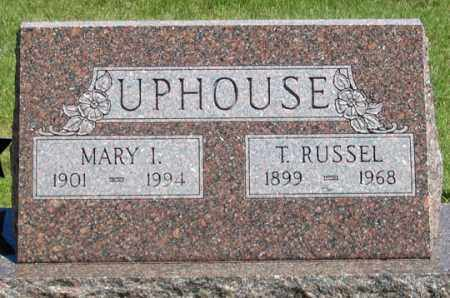 UPHOUSE, MARY I. - Dundy County, Nebraska | MARY I. UPHOUSE - Nebraska Gravestone Photos