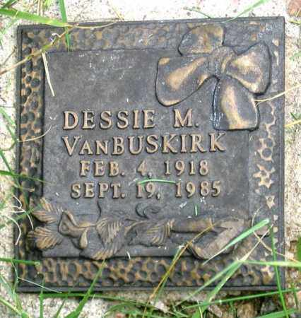 VAN BUSKIRK, DESSIE M. - Dundy County, Nebraska   DESSIE M. VAN BUSKIRK - Nebraska Gravestone Photos