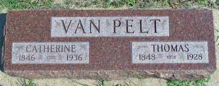 VAN PELT, THOMAS - Dundy County, Nebraska | THOMAS VAN PELT - Nebraska Gravestone Photos