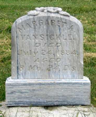 VAN SICKLE, MARGARET A. - Dundy County, Nebraska | MARGARET A. VAN SICKLE - Nebraska Gravestone Photos