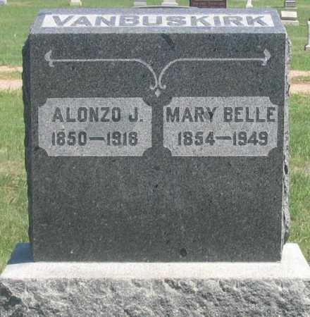 TURNER VANBUSKIRK, MARY BELLE - Dundy County, Nebraska | MARY BELLE TURNER VANBUSKIRK - Nebraska Gravestone Photos