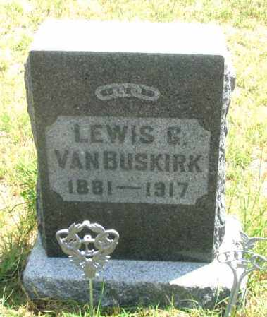 VANBUSKIRK, LEWIS G. - Dundy County, Nebraska | LEWIS G. VANBUSKIRK - Nebraska Gravestone Photos