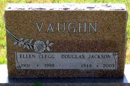 CLEGG VAUGHN, ELLEN - Dundy County, Nebraska | ELLEN CLEGG VAUGHN - Nebraska Gravestone Photos