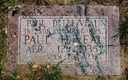 VEAL, PAUL DELEE - Dundy County, Nebraska | PAUL DELEE VEAL - Nebraska Gravestone Photos