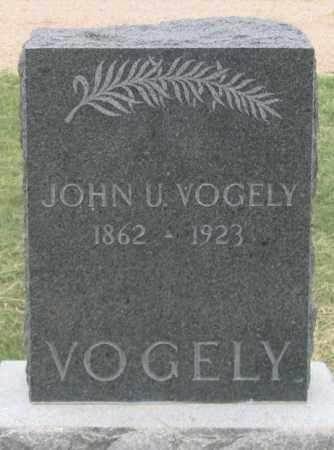 VOGELY, JOHN U. - Dundy County, Nebraska | JOHN U. VOGELY - Nebraska Gravestone Photos