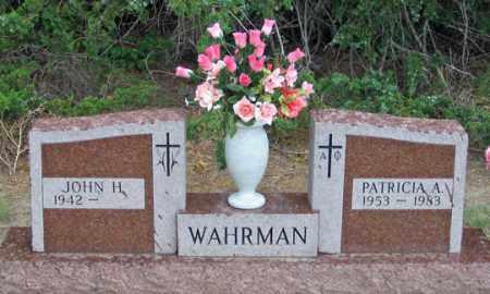 WAHRMAN, JOHN H. - Dundy County, Nebraska   JOHN H. WAHRMAN - Nebraska Gravestone Photos