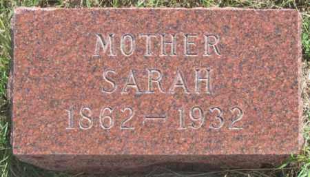 WAKEFIELD, SARAH E. - Dundy County, Nebraska   SARAH E. WAKEFIELD - Nebraska Gravestone Photos