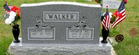 ZUEGE WALKER, DOROTHY - Dundy County, Nebraska | DOROTHY ZUEGE WALKER - Nebraska Gravestone Photos