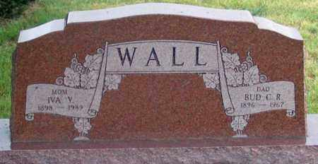 WALL, IVA VIOLET - Dundy County, Nebraska | IVA VIOLET WALL - Nebraska Gravestone Photos