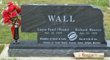 WALL, RICHARD MAURICE - Dundy County, Nebraska | RICHARD MAURICE WALL - Nebraska Gravestone Photos