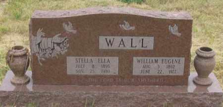 WALL, WILLIAM EUGENE - Dundy County, Nebraska | WILLIAM EUGENE WALL - Nebraska Gravestone Photos