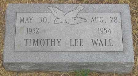 WALL, TIMOTHY LEE - Dundy County, Nebraska | TIMOTHY LEE WALL - Nebraska Gravestone Photos