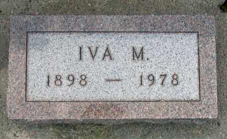 WALLACE, IVA MARIE - Dundy County, Nebraska | IVA MARIE WALLACE - Nebraska Gravestone Photos