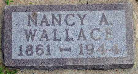 WALLACE, NANCY A. - Dundy County, Nebraska | NANCY A. WALLACE - Nebraska Gravestone Photos